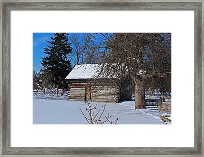 Peter Navarre Cabin II Framed Print