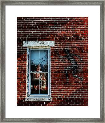 Peter Pan's Shadow Framed Print by Scott Meyer