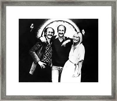 Peter Paul And Mary, Peter Yarrow, Paul Framed Print by Everett