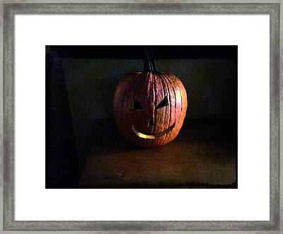 Peter Peter Pumpkin Eater Framed Print by Michael L Kimble
