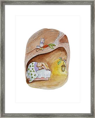 Peter Rabbit  Framed Print by Irina Sztukowski