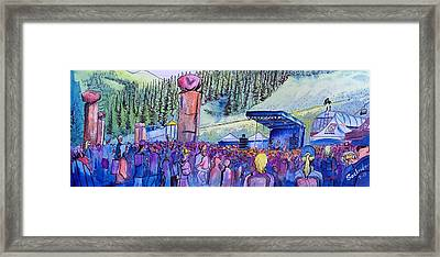 Peter Rowen At Copper Mountain Framed Print