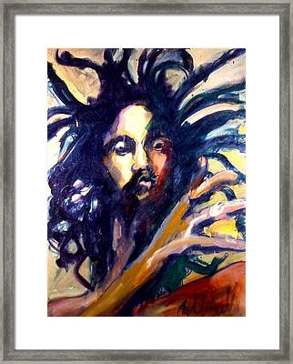 Peter Tosh Framed Print