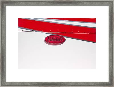 Peterbilt Logo Framed Print