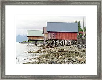 Petersburg Coastal Framed Print