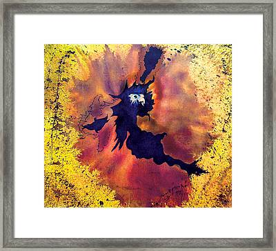 Framed Print featuring the painting Pete's Speed Of Light by Albert Puskaric