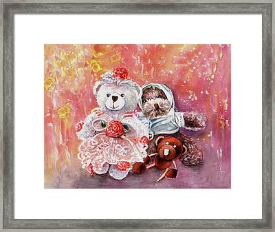 Petipa And Capuchon And Clopin Clopan Framed Print by Miki De Goodaboom