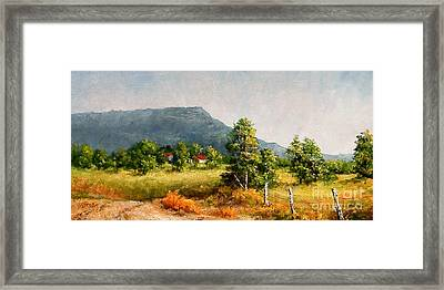 Petit Jean Mountain Framed Print