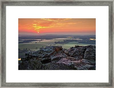 Petit Jean Sunrise Framed Print