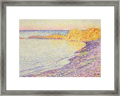 Petit Plage, Saint Tropez Framed Print