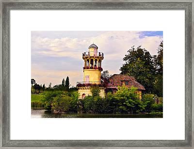 Marlborough Tower Framed Print by Hsin Liu