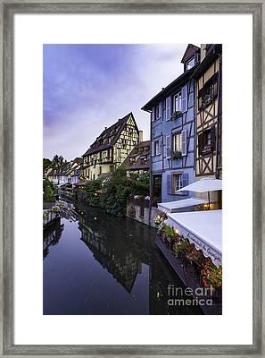 Petit Venise Framed Print by Brian Jannsen