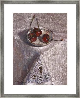 Petite Bowl IIi Framed Print by L Diane Johnson