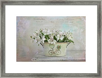 Petite Fleurs Framed Print