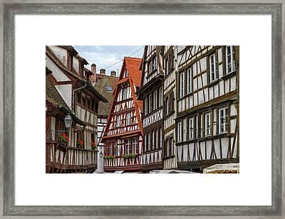 Petite France Houses, Strasbourg Framed Print