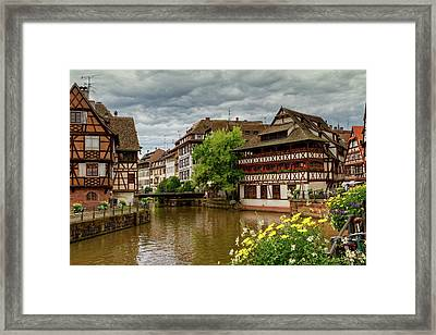 Petite France, Strasbourg Framed Print by Elenarts - Elena Duvernay photo