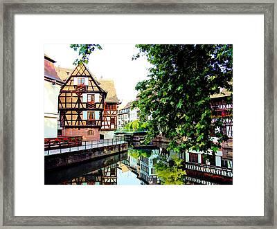 Petite France - Strassbourg, France Framed Print