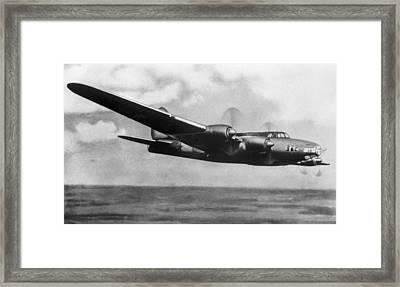 Petlyakov Pe-8, Soviet Ww2 Bomber Framed Print by Ria Novosti