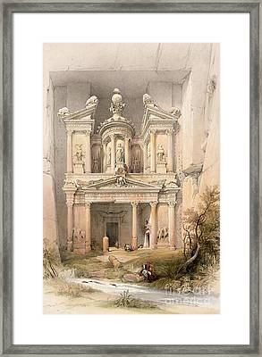 Petra Framed Print by David Roberts