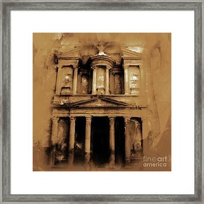 Petra Jordan Art Framed Print