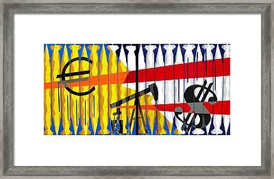 Petrofunds Framed Print by Dennis McCann
