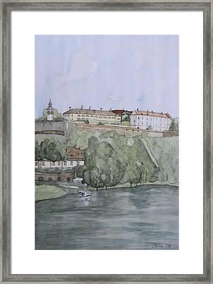 Petrovaradin Fortress Framed Print by Desimir Rodic