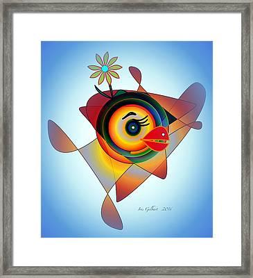 Petunia Parrot 2 Framed Print