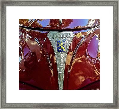 Peugeot 203 Framed Print