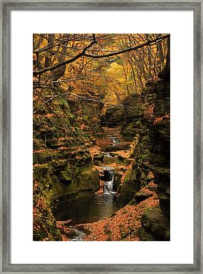 Pewit's Nest - Wisconsin Framed Print