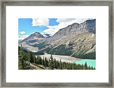 Peyto Lake Alternate View Framed Print