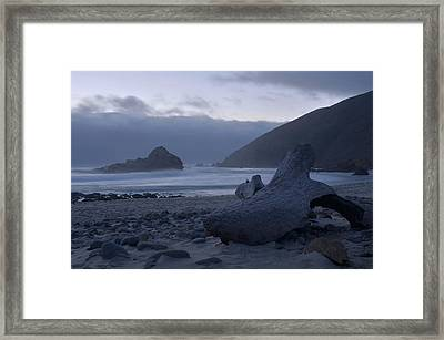 Pfeiffer Beach - Big Sur Framed Print by Stephen  Vecchiotti