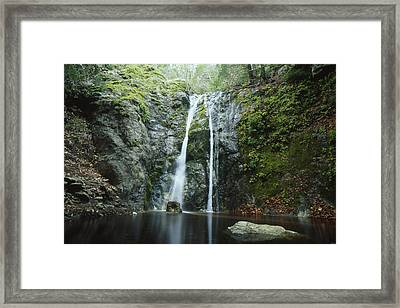 Pfeiffer Falls - Big Sur Framed Print
