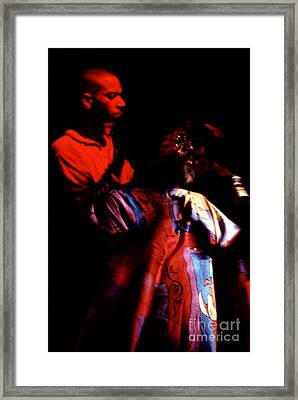 George Clinton And Son Pfunk Heritage Framed Print by Neon Flash