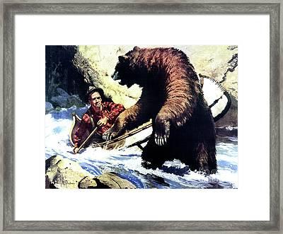 Pg- Dangerous Waters Framed Print by JQ Licensing