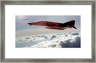 Phabulous Phantoms Framed Print