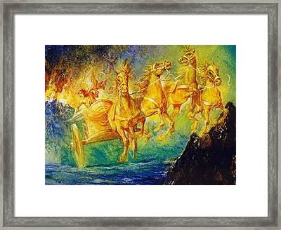 Phaethon Framed Print by English School