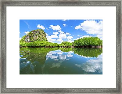 Phang Nga Bay Framed Print