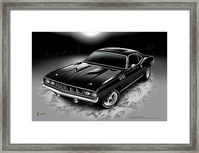 Phantasm 71 Cuda Framed Print