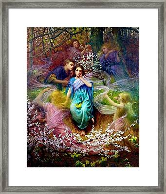 Phantasy Framed Print by MotionAge Designs
