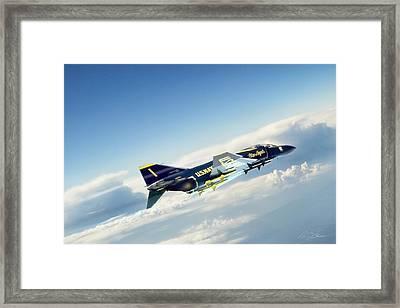 Phantom Angel 2 Framed Print by Peter Chilelli