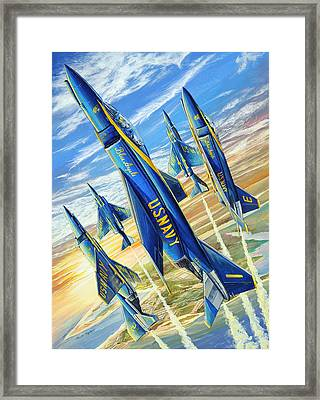 Phantom Angels Framed Print by Charles Taylor