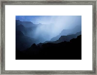 Phantom Blues Framed Print by Adam Schallau
