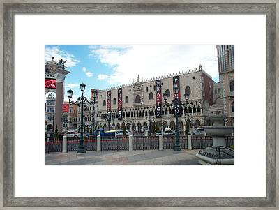 Phantom Building Framed Print by Alan Espasandin