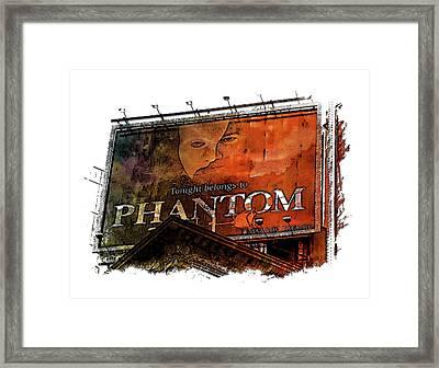 Phantom Earthy Rainbow 3 Dimensional Framed Print
