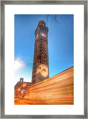 Phantom Lights Framed Print