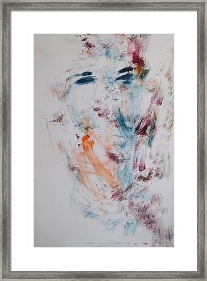 Phantom Of A Young Girl Framed Print