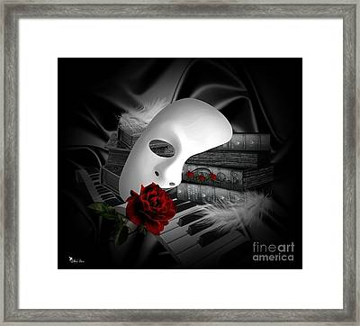 Phantom Of The Opera Framed Print