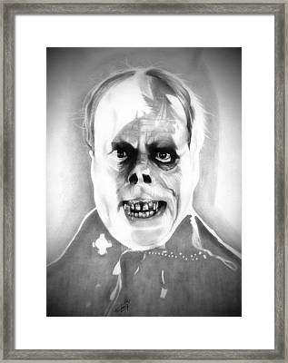 Phantom Of The Opera Framed Print by Fred Larucci