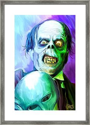 Phantom Of The Opera Mark Spears Monsters Framed Print