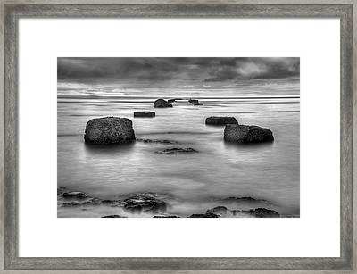 Phantom Pier Framed Print